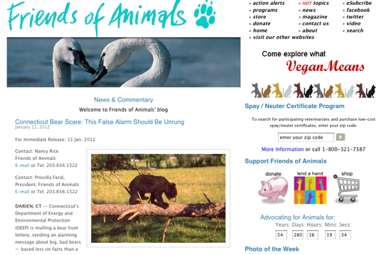 VeganZeitgeist's Favorite Non-Human Animal Organizations